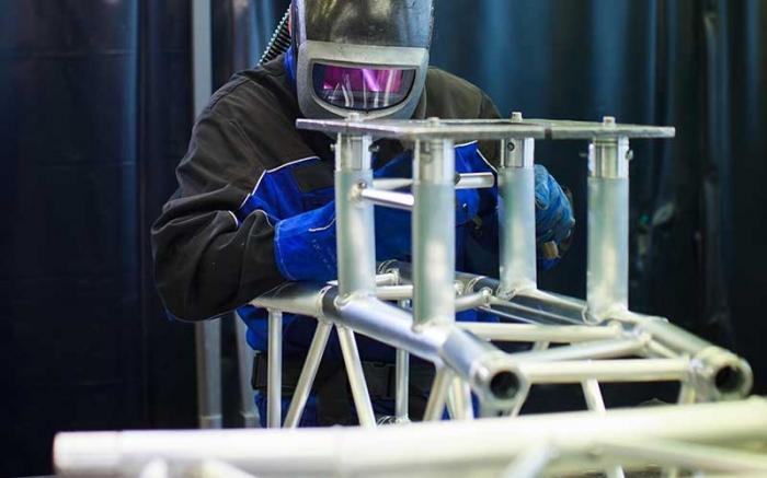 铝型材焊接设备