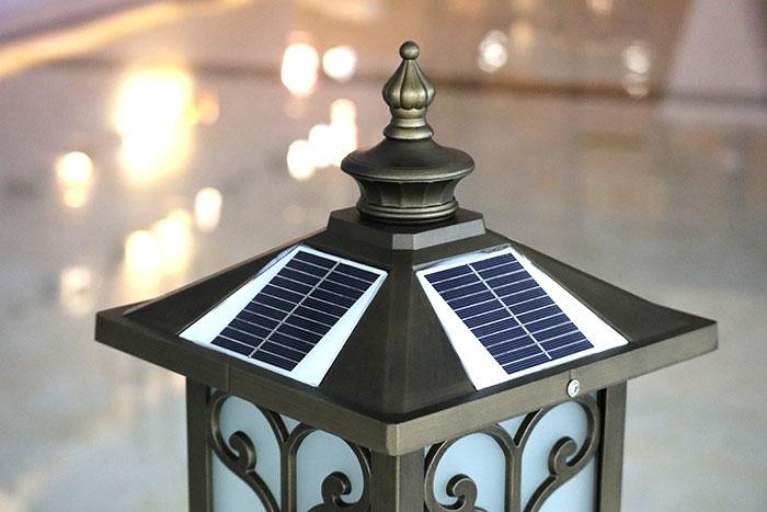 太阳能柱头灯批发