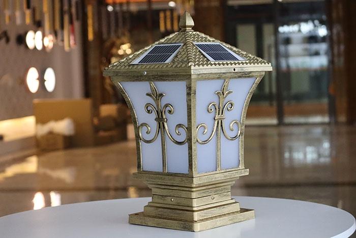 太阳能柱头灯|尖花柱头灯系列