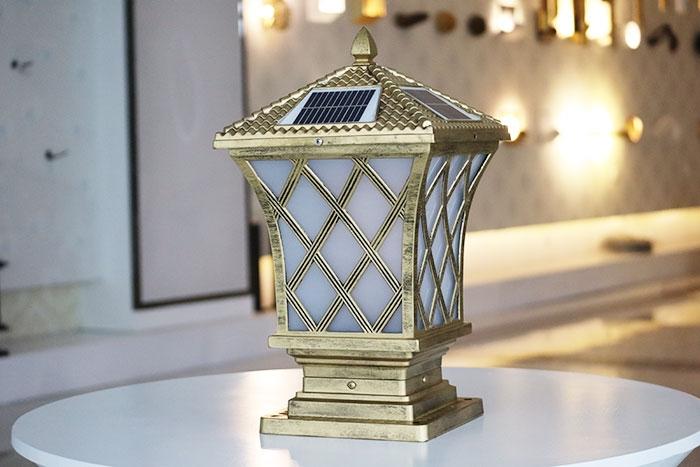 渔网柱头灯|太阳能柱头灯批发
