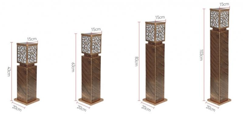 太阳能草坪灯规格