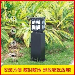蝴蝶结太阳能草坪灯系列