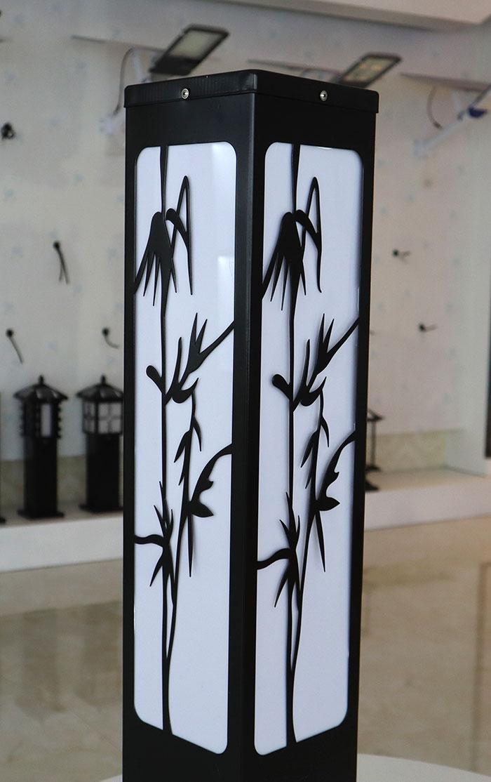 竹子草坪灯 太阳能草坪灯批发