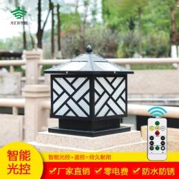 YY太阳能柱头灯系列