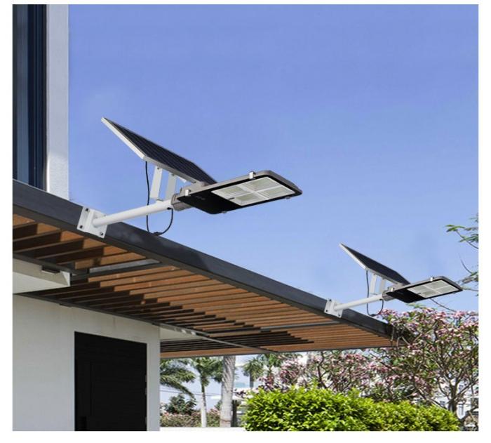 装墙款太阳能路灯