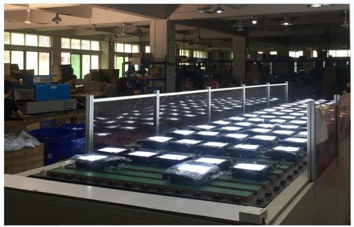 压铸铝太阳能投光灯工厂实景