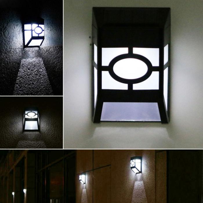 围墙太阳能壁灯户外灯