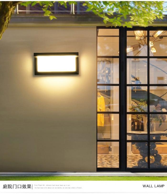 新款太阳能墙壁灯