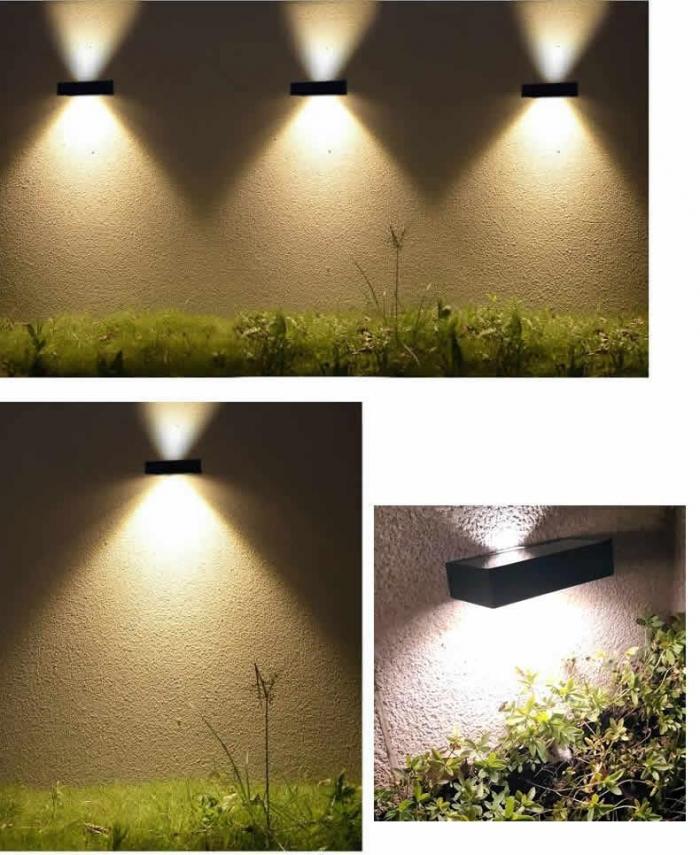 户外防水太阳能led壁灯
