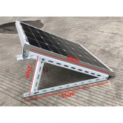 便携式太阳能板支架