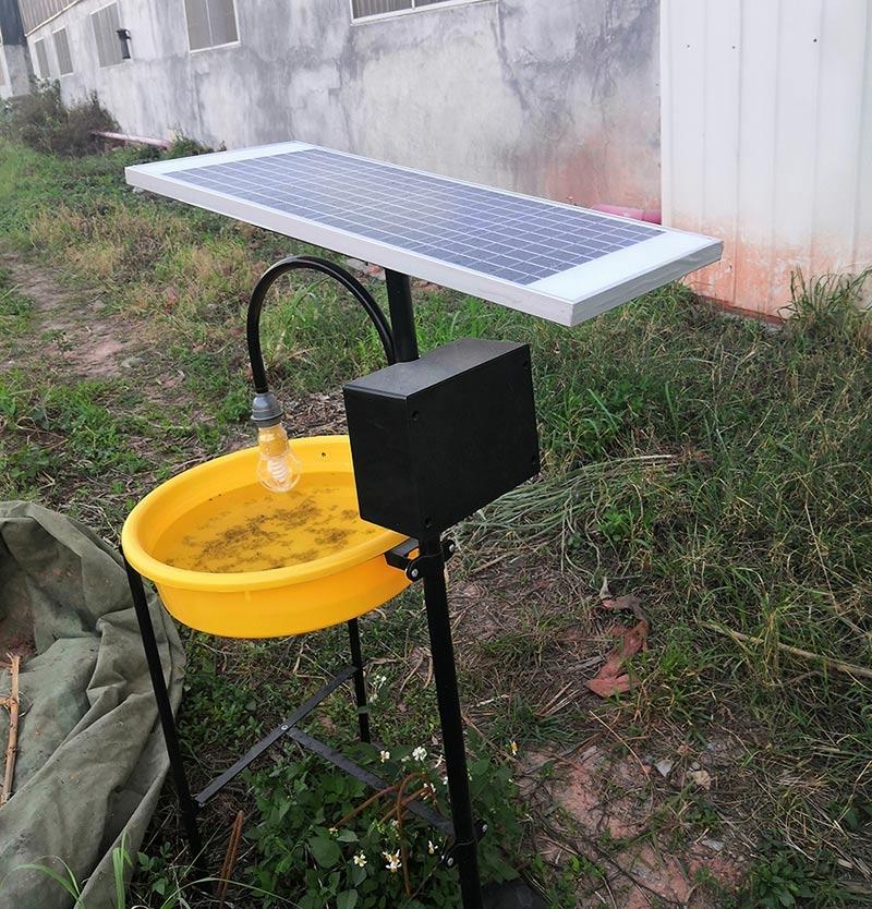 太阳能灭蚊灯详情