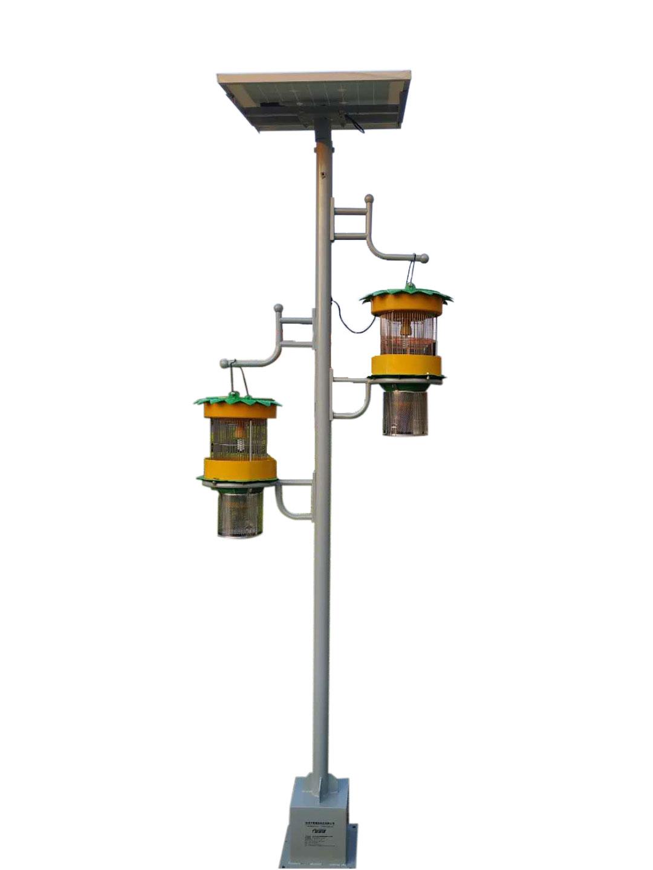 双灯风吸式智慧杀虫灯