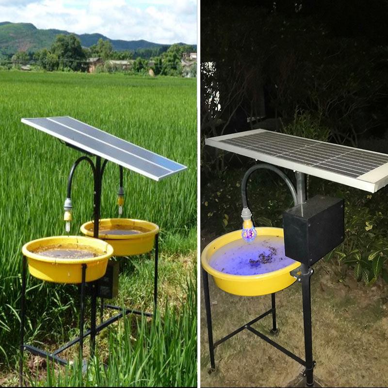 太阳能杀虫灯案例