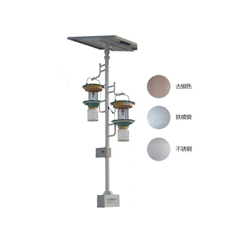 双灯太阳能智能电网式杀虫灯