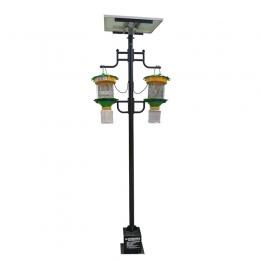 双灯太阳能智能电网式灭蚊器