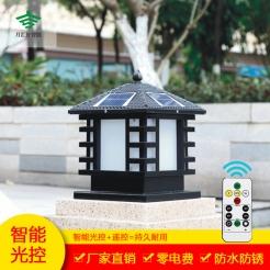 非字太阳能柱头灯系列