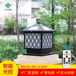 梅花太阳能柱头灯系列