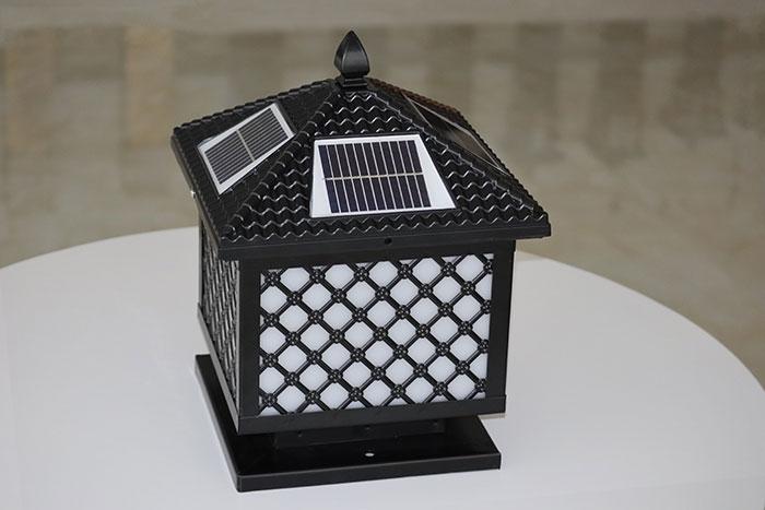 网格柱头灯|太阳能柱头灯批发