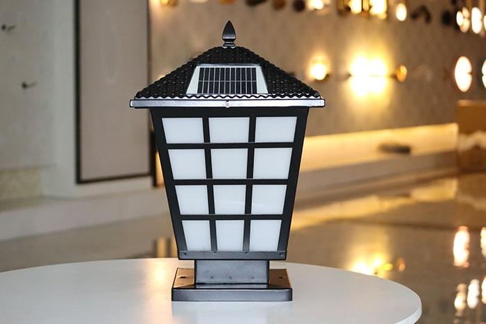 斜笼柱头灯|太阳能柱头灯批发